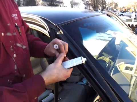 How To Fix Windshield Water Leaks - Lincoln Town Car