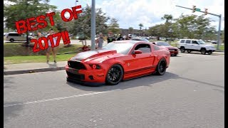 Best Mustang Pullouts/Burnouts of 2017!