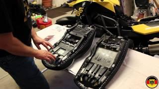9. 2012 BMW F650GS Sargent Seat Installation