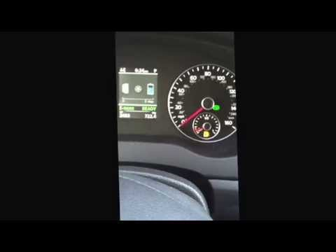 Test Drive 2014 VW Jetta hybrid electric car by Green Living Guy