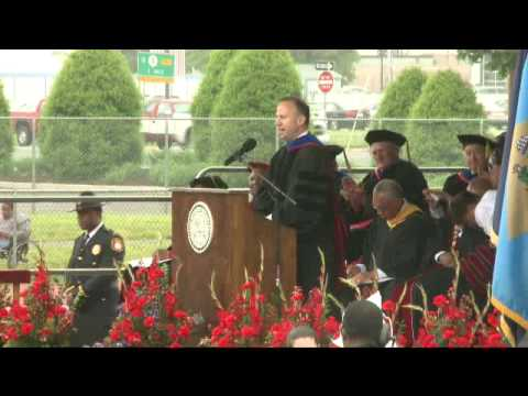 DSU 122nd Commencement Ceremony-Delaware Governor Jack A. Markell