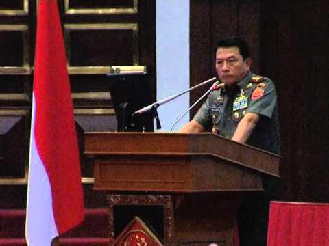 Panglima TNI Buka Rapat Pimpinan TNI 2014