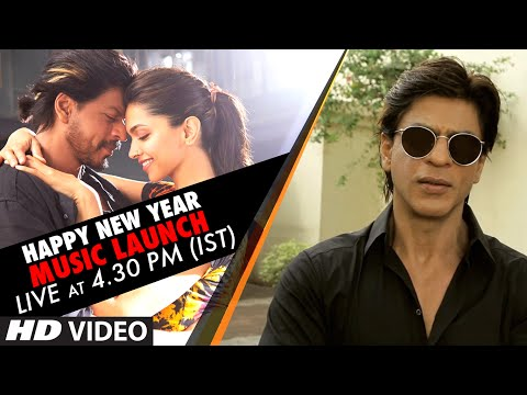 Happy New Year Music Launch LIVE at 4.30 pm (IST) -...