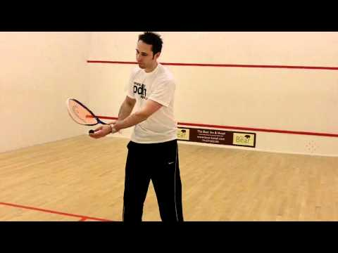 Squash tips – How to hit a forehand drop shot when playing squash