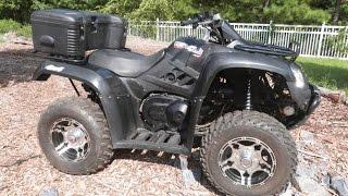 10. 2010 KYMCO MXU 375 4x4 LE #9-0108 @ Diamond Motor Sports