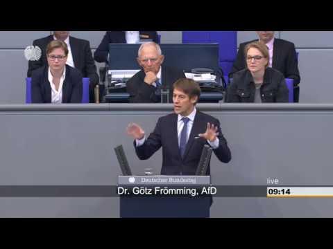 Bundestag - 28. September 2018 - Änderung des GG - Bildung, Bau, Verkehr