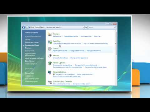 Windows® Vista: How to add a network, wireless or Bluetooth® printer