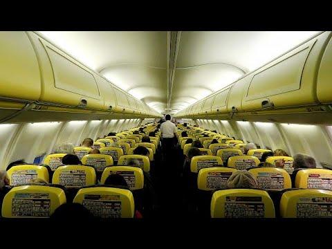 Ryanair: Στο νοσοκομείο επιβάτες μετά από αναγκαστική προσγείωση…