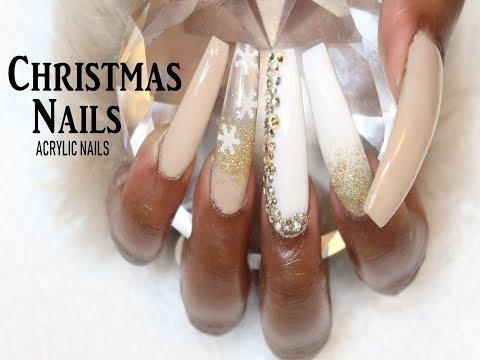 Christmas Nails/Acrylic Nails