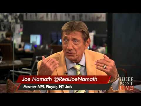 Joe Namath Adresses NFL Concussions | HPL