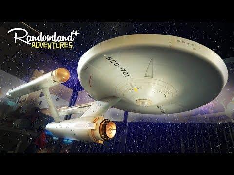 The Original Starship Enterprise - Star Trek, the US Capitol, & The World's first Airplane! (видео)