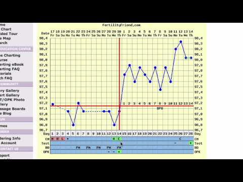 Triphasic Ovulation Chart - Video Interpretation