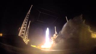 4X Slow Motion 4K Video Of Atlas V-551 / MUOS-3 Launch; GoPro Hero 4 Black
