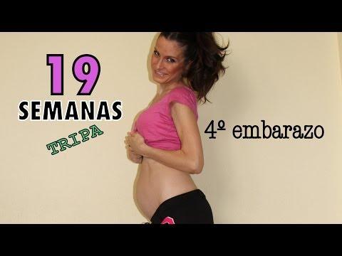 Tripa 19 semanas embarazo / 19 weeks pregnant belly