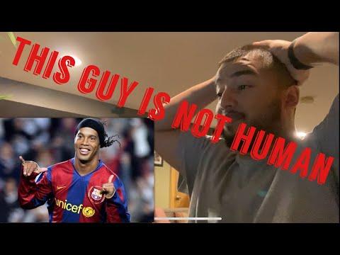 "🇧🇷 Boxing Fan Reacts To ""Ronaldinho - Football's Greatest Entertainment"""