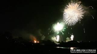 Kamiichi Japan  city images : ふるさと観光上市まつり花火大会2016 Toyama Kamiichi Fireworks