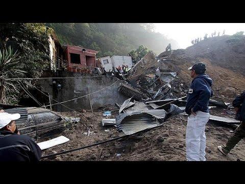 Γουατεμάλα: Φονική κατολίσθηση με εννέα νεκρούς και 600 αγνοούμενους