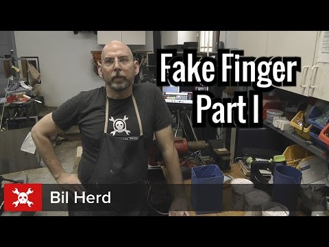hand - Bil Herd from Hackaday is after his very own cybernetic augmentation in the form of a replacement finger for one he lost. In this installment he makes a cast of his hand and sends a model off...
