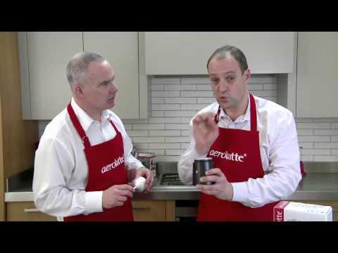 aerolatte Caffè Porcellana moka pot espresso making guide