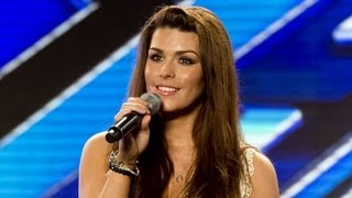 Carolynne Poole's audition - Emeli Sande's Clown - The X Factor UK 2012