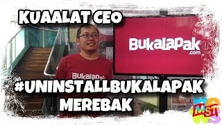 Video Kuaaalllat CEO, #UninstallBukalapak Merebak! Politik Itu K(ej)am, Zaky! MP3, 3GP, MP4, WEBM, AVI, FLV Februari 2019