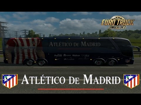 Bus Marcopolo G7 1600LD Atletico Madrid 1.18-1.23
