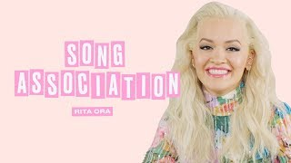 Rita Ora Sings Michael Jackson, Nelly and Beyoncé in a Game of Song Association | ELLE