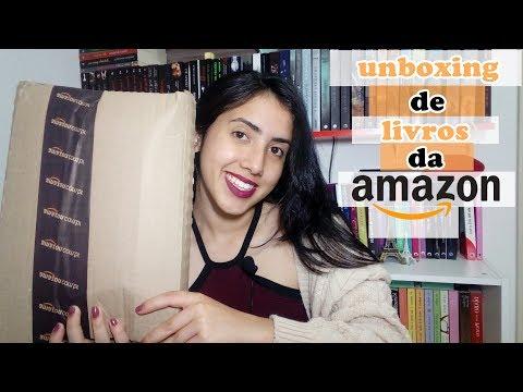 UNBOXING AMAZON  Leticia Ferfer Livro Livro Meu