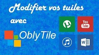 Changer les tuiles WIndows 8 (icônes raccourci) de votre page d'accueil Windows 8 grâce au logiciel OblyTile et aux 725 tuiles MetroUI !Lien du logiciel Oblytile→ http://www.clictune.com/id=226089Lien de l'archive 725 icons MetroUI→ http://www.clictune.com/id=226088un pouce vert si vous avez aimé cette vidéo, commenter si vous avez besoin d'aide et abonnez-vous !