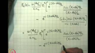Mod-03 Lec-09 Non - Linear Optics (Contd....)