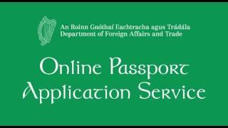 Online Irish Passport Application