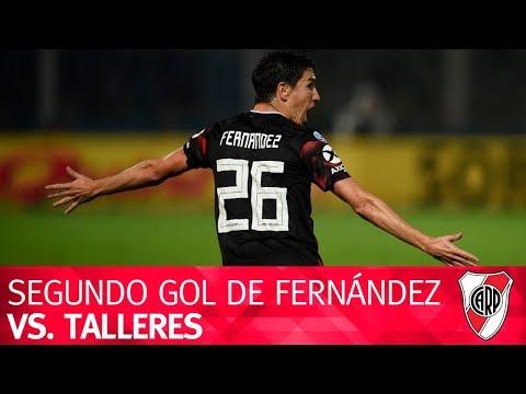 Segundo gol de Nacho Fernández vs. Talleres
