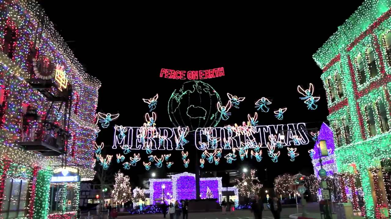 Osborne Family Spectacle of Dancing Lights 2009 - Snow Fall