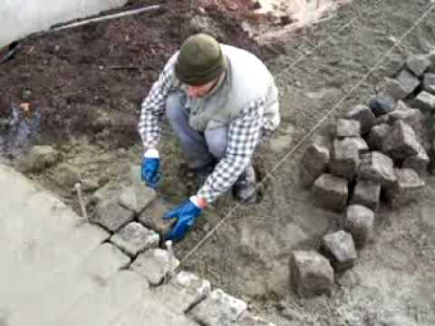 comment poser des pavés de rue