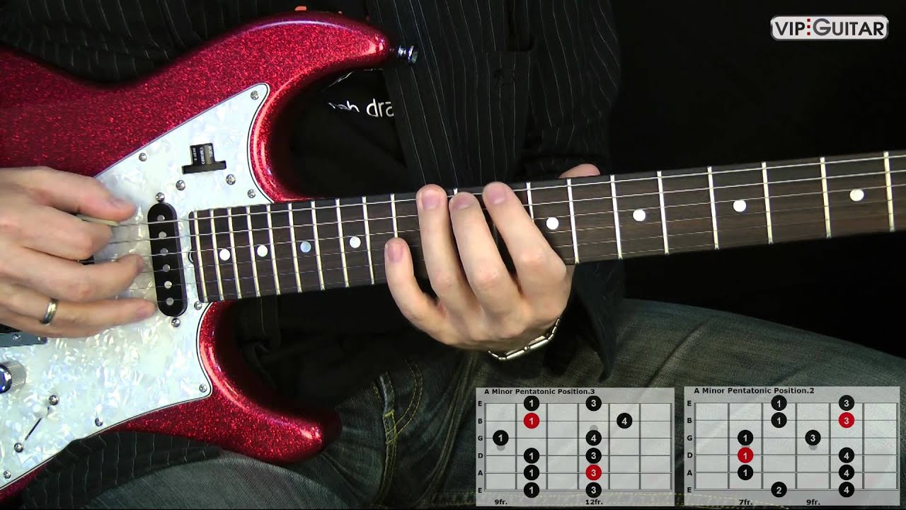 "Pentatonic Guitar Lesson: ""Connecting the 5 Scale Shapes"" – Easy Lesson"