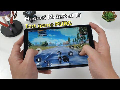 Huawei MatePad T8 test game PUBG Mobile   MediaTek MT8768 Ram 2 GB
