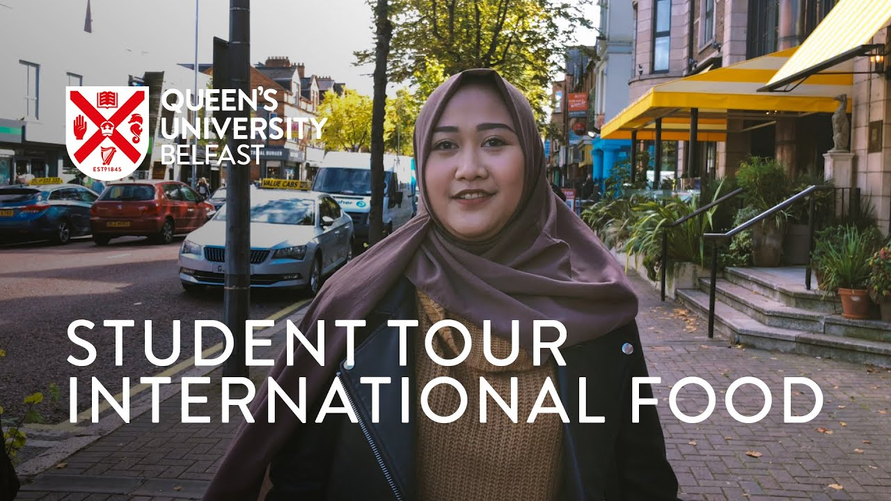 Video Thumbnail: International and Local Food in Belfast