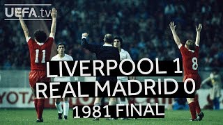 Video KENNEDY, DALGLISH, SOUNESS: LIVERPOOL 1-0 REAL MADRID, 1981 EUROPEAN CUP FINAL MP3, 3GP, MP4, WEBM, AVI, FLV Agustus 2018