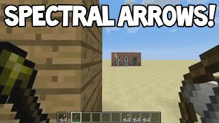 Minecraft 1.9 Update! - New SPECTRAL ARROWS! + Potion UI + More Gameplay!