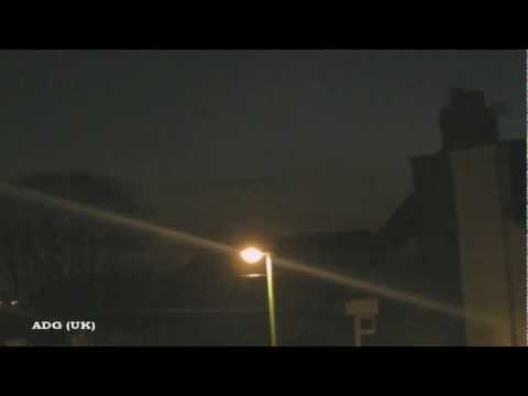 UFO Emits Terrifying Sound? 2012
