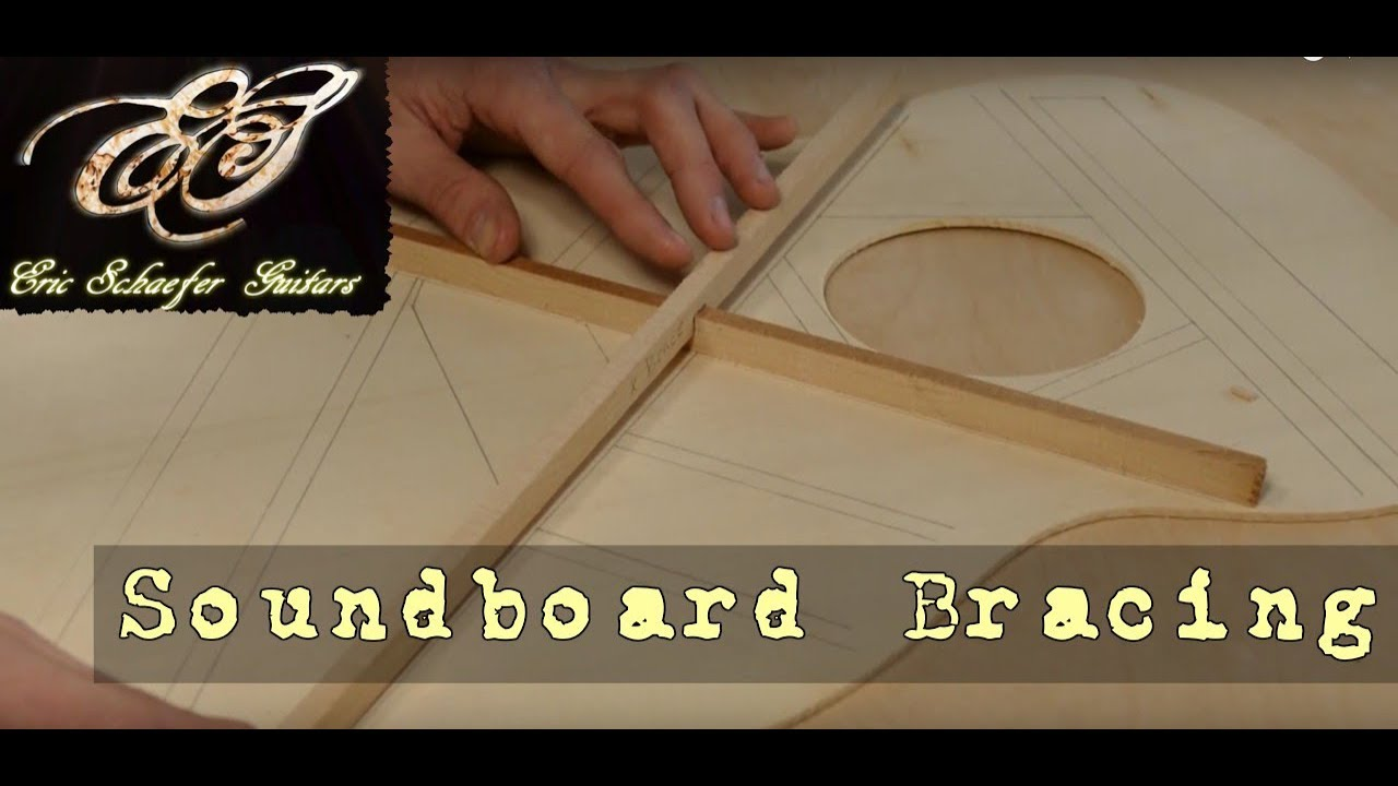 Soundboard Bracing (Ep 16 – Acoustic Guitar Build)