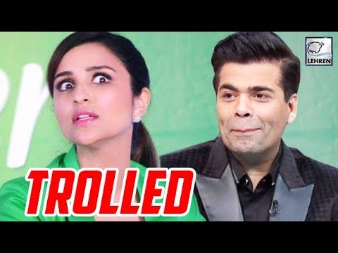 Parineeti Chopra INSULTED By Fans Because Of Karan