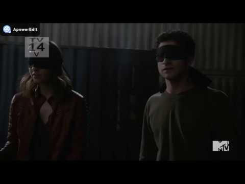 "Teen Wolf 6x19 ""Broken Glass"" Scott And Malia Start Training"
