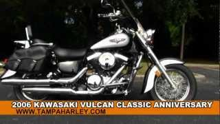 1. Used 2006 Kawasaki Vulcan Classic Anniversary VN1500