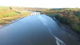 Bideford United Kingdom  City pictures : iron bridge to bideford bridge! devon, U.K. dji phantom 3 advanced