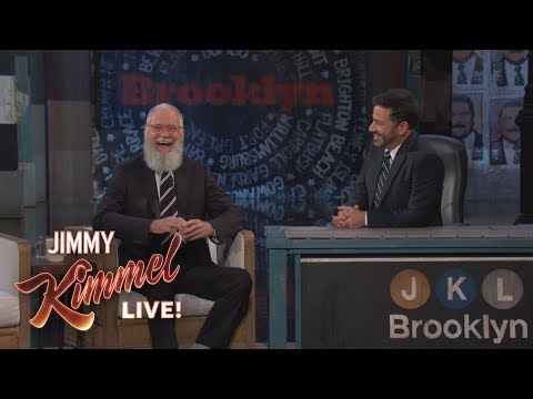Jimmy Kimmel Interviews David Letterman