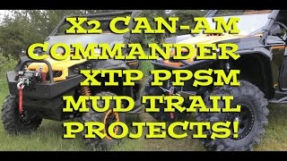2. Can-am Commander XTP 1000 Trail and Mud Modified!