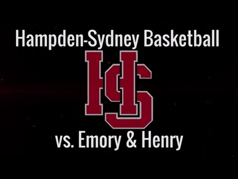 Hampden-Sydney Basketball Highlights vs. Emory & Henry - 12/05/2015