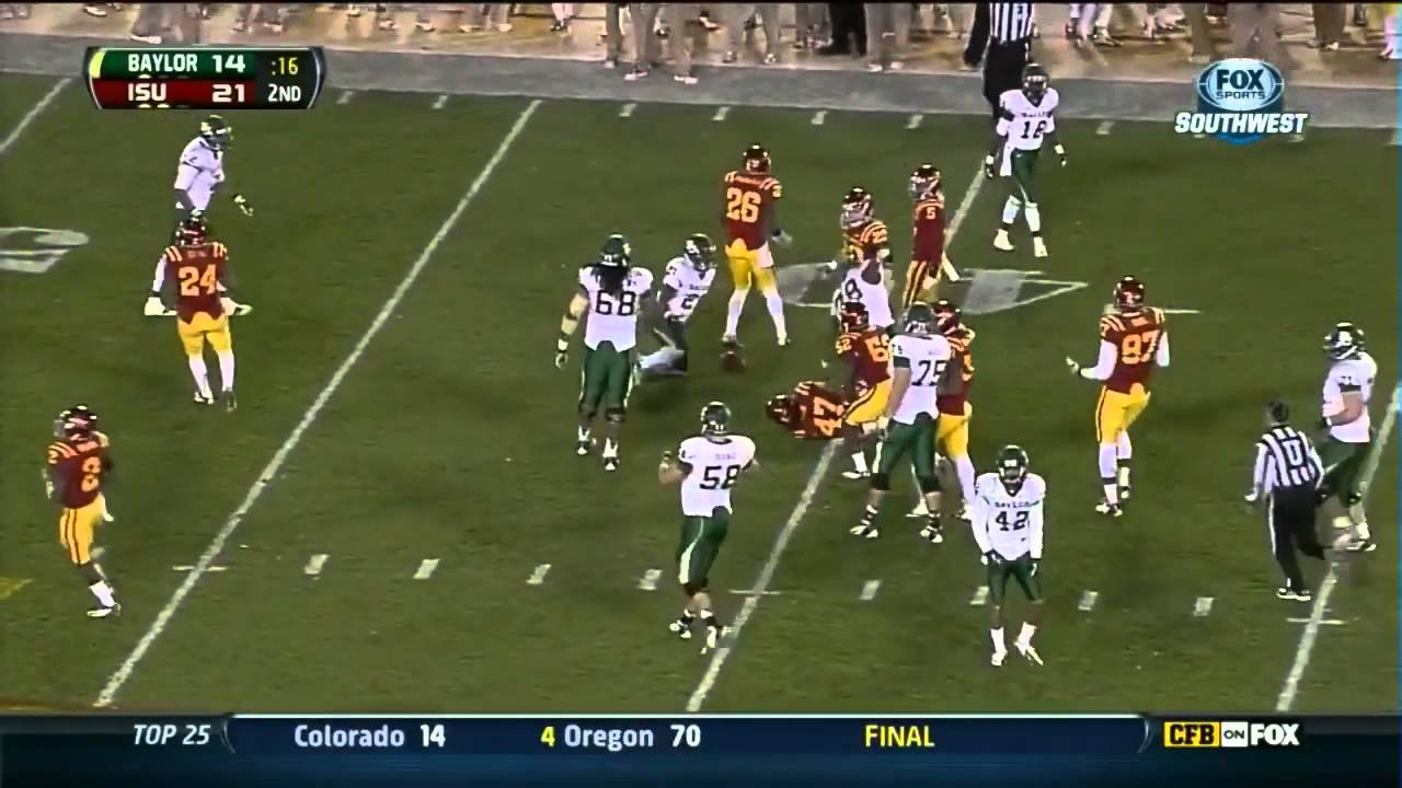 Terrance Williams vs Iowa State (2012)