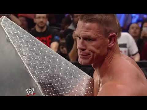 FULL MATCH - john Cena vs  kane - Ambulance Match : WWE  Elimination Chamber 2012